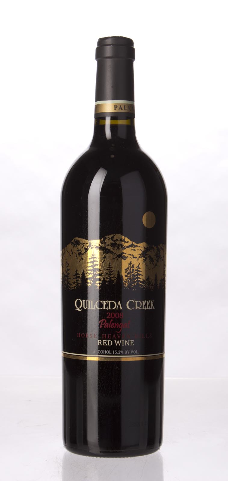 Quilceda Creek Proprietary Red Palengat Vineyard 2008, 750mL (WA97) from The BPW - Merchants of rare and fine wines.