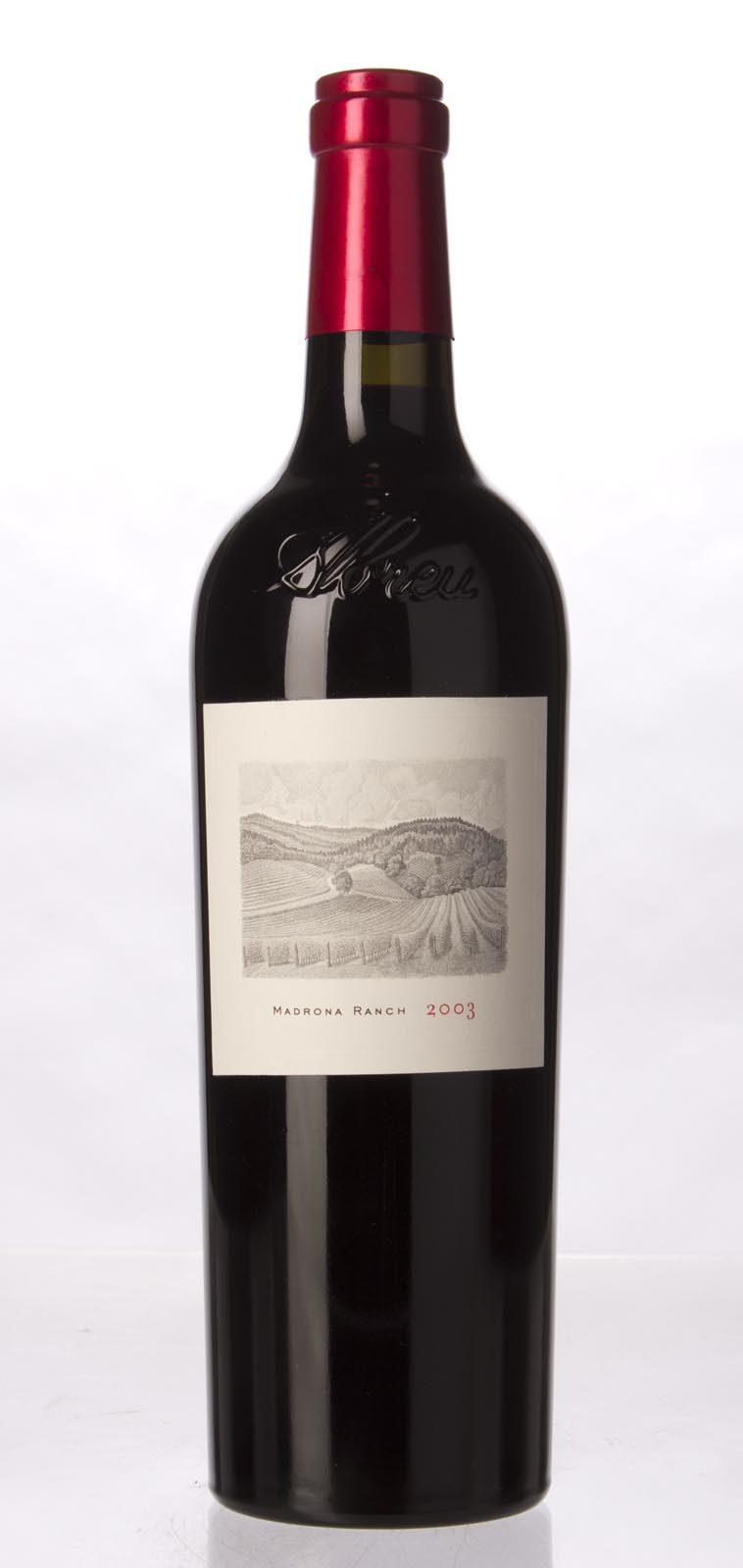 Abreu Cabernet Sauvignon Madrona Ranch 2003, 750mL (WA96) from The BPW - Merchants of rare and fine wines.