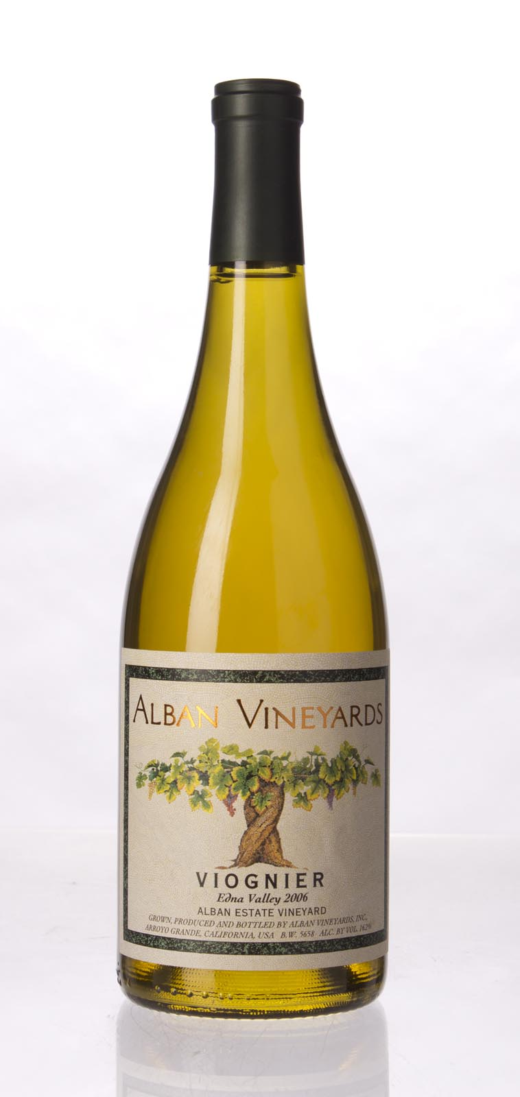 Alban Vineyards Viognier Alban Estate Vineyard 2006, 750mL (WA91-93, ST92) from The BPW - Merchants of rare and fine wines.