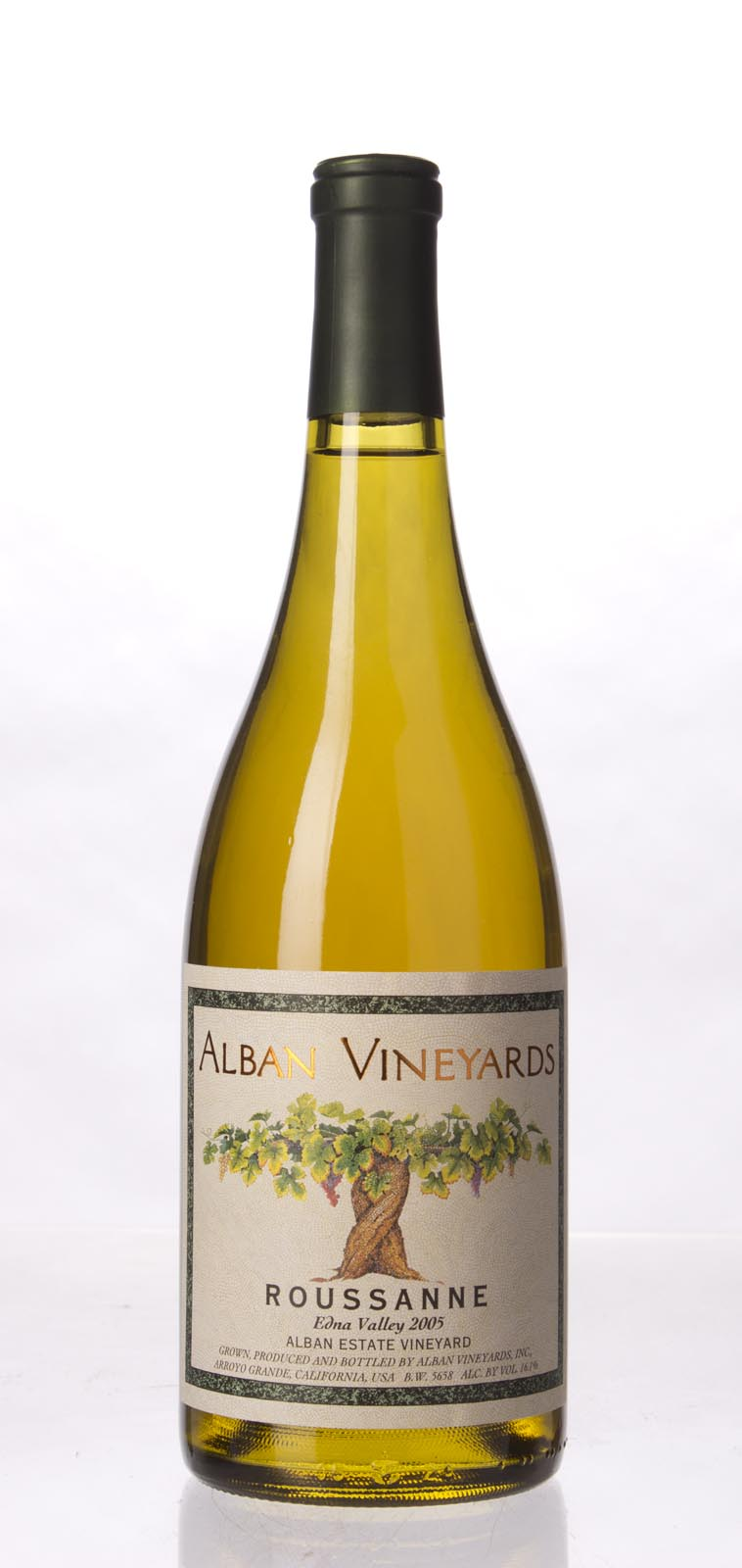 Alban Vineyards Roussanne Alban Estate Vineyard 2005, 750mL (ST91, WS92) from The BPW - Merchants of rare and fine wines.