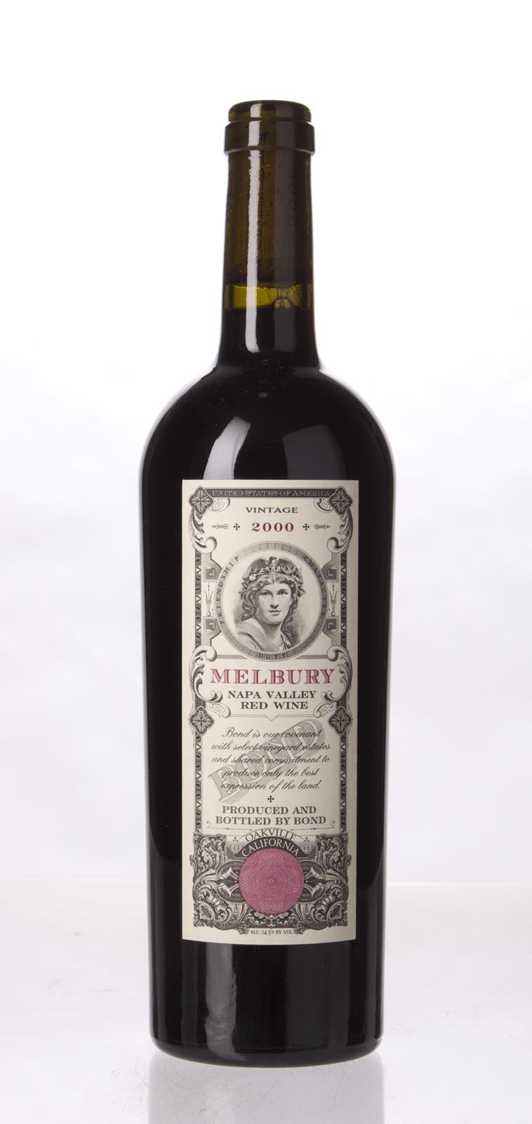 Bond Melbury 2000, 750mL (WS94) from The BPW - Merchants of rare and fine wines.