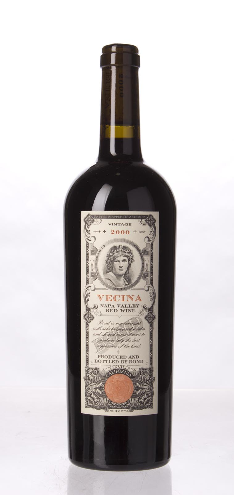 Bond Vecina 2000,  (WS93) from The BPW - Merchants of rare and fine wines.