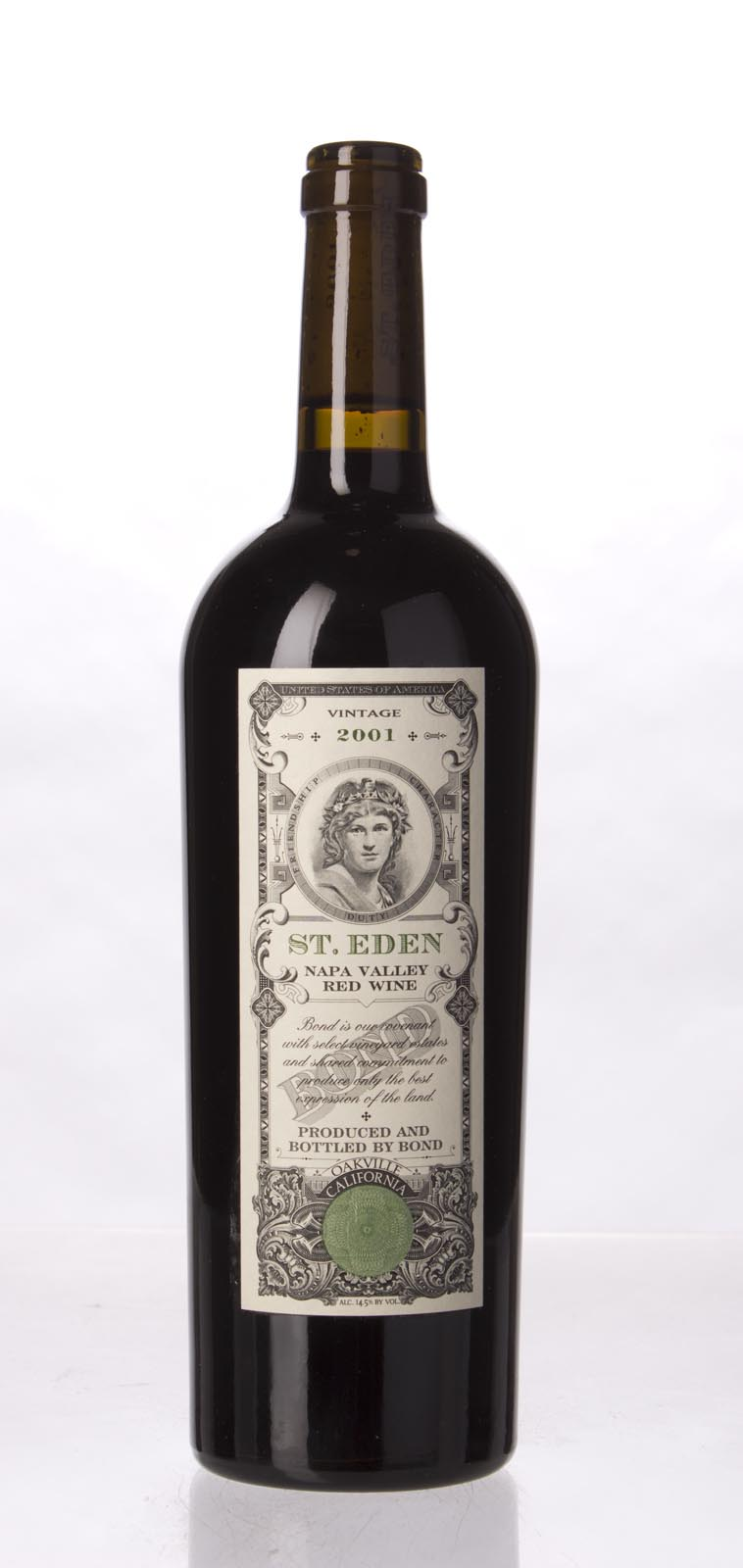 Bond St. Eden 2001, 750mL (WA100) from The BPW - Merchants of rare and fine wines.