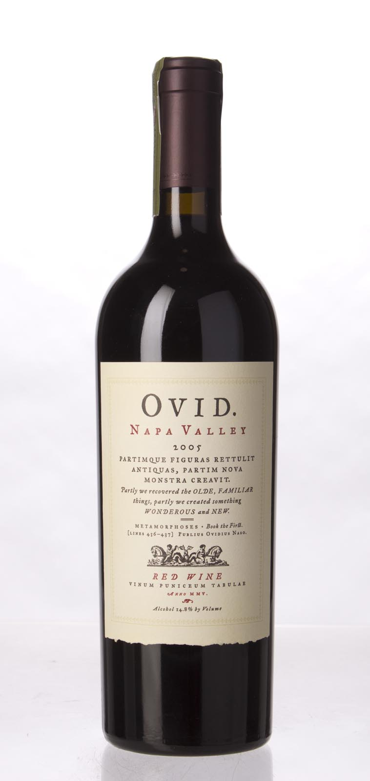 Ovid Winery Proprietary Red Napa Valley 2005, 750mL (ST95, WS94) from The BPW - Merchants of rare and fine wines.