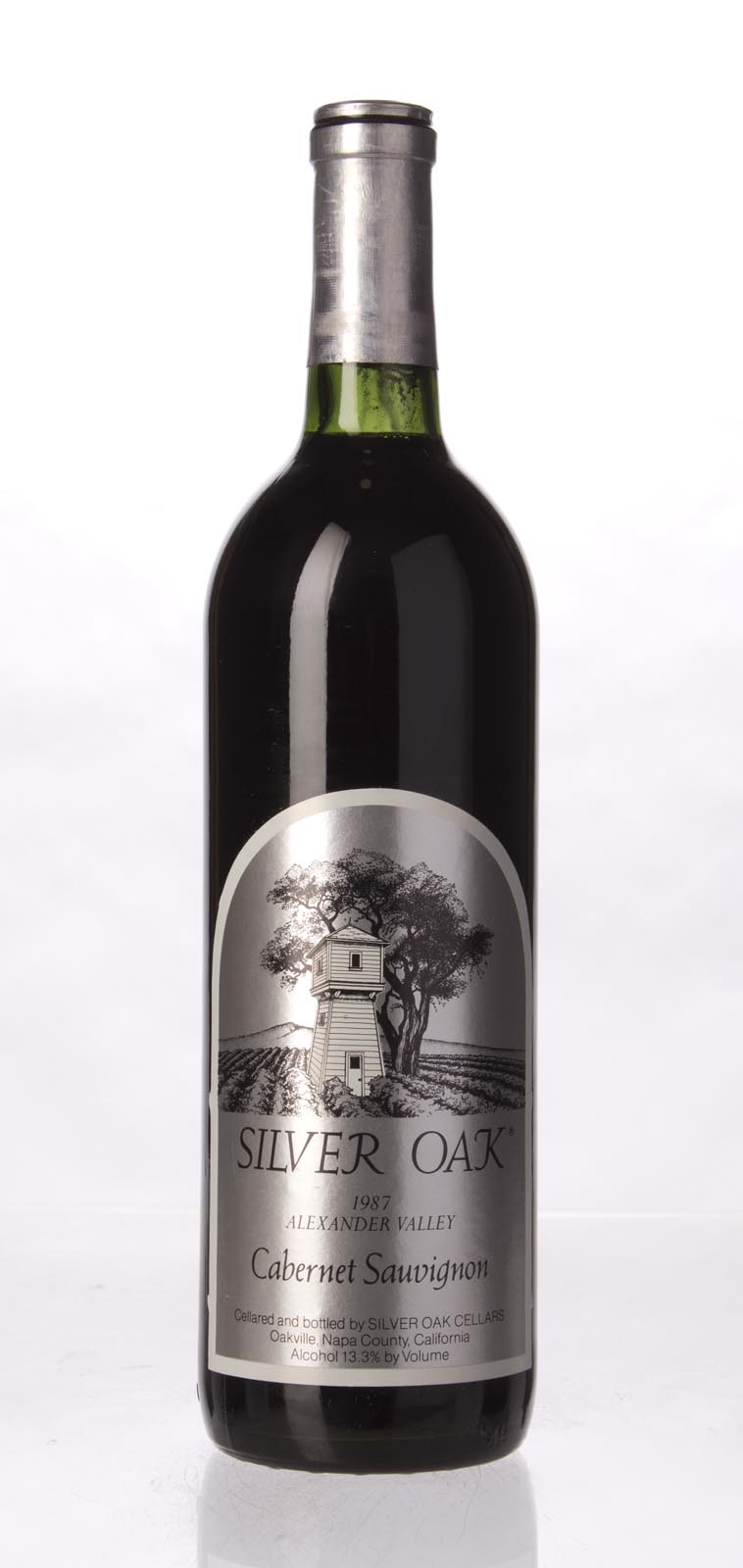 Silver Oak Cabernet Sauvignon Alexander Valley 1987, 750mL (WS93) from The BPW - Merchants of rare and fine wines.