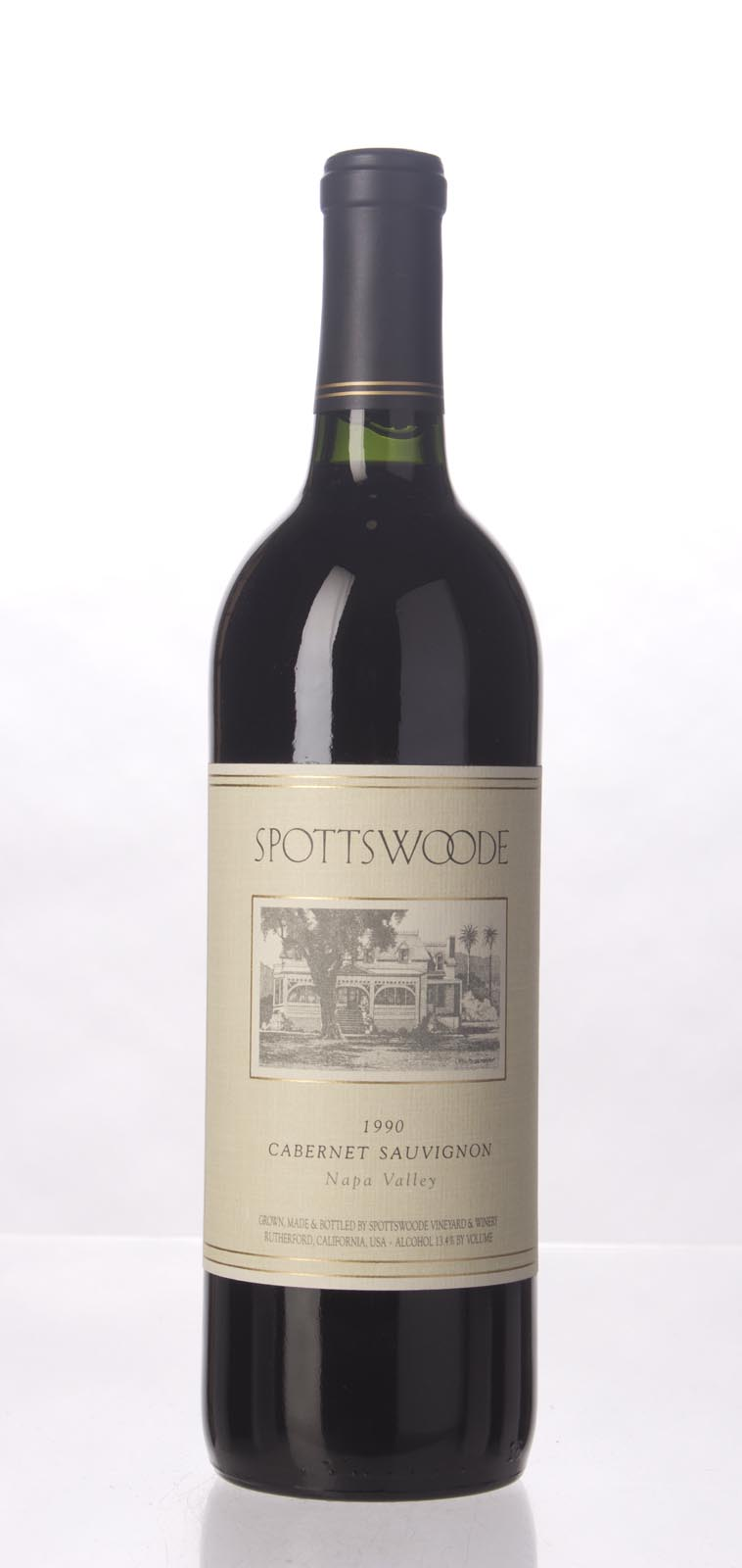 Spottswoode Cabernet Sauvignon Napa Valley 1990, 750mL (WS93) from The BPW - Merchants of rare and fine wines.