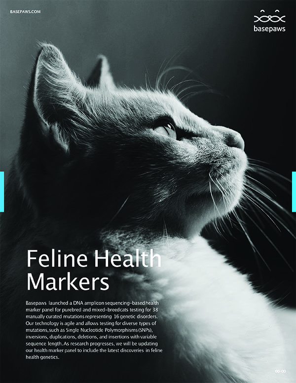 Feline Health Markers by Basepaws