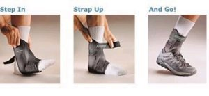 The Aircast AirSport Ankle Brace