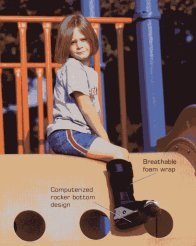 Bledsoe Wee Walker Pediatric Boot