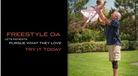 Breg Freestyle OA Arthritis Knee Brace
