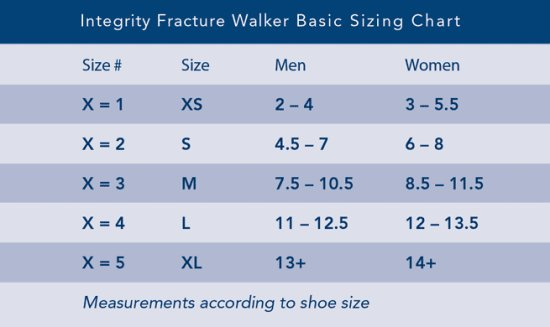 Breg Integrity Tall Air Walking Boot