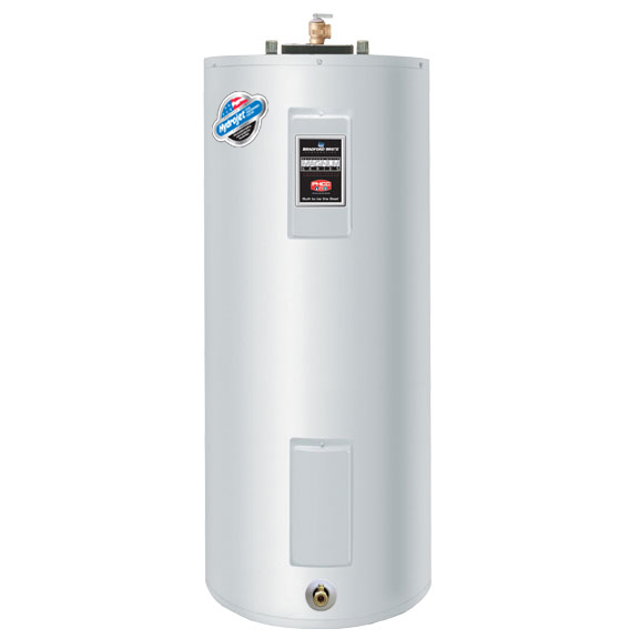 Bradford White 40 Gallon Electric Commercial Water Heater 1554955
