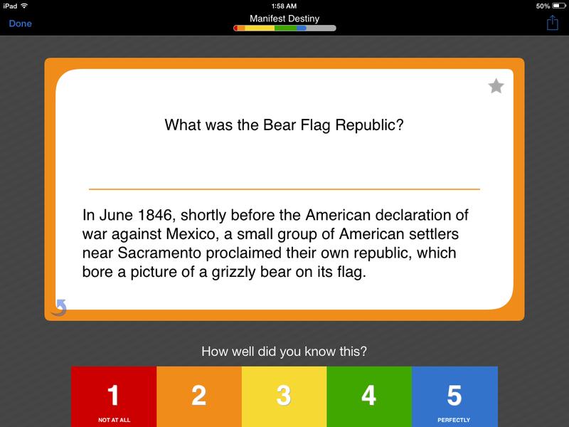 Online AP U S  History Exam Flashcards