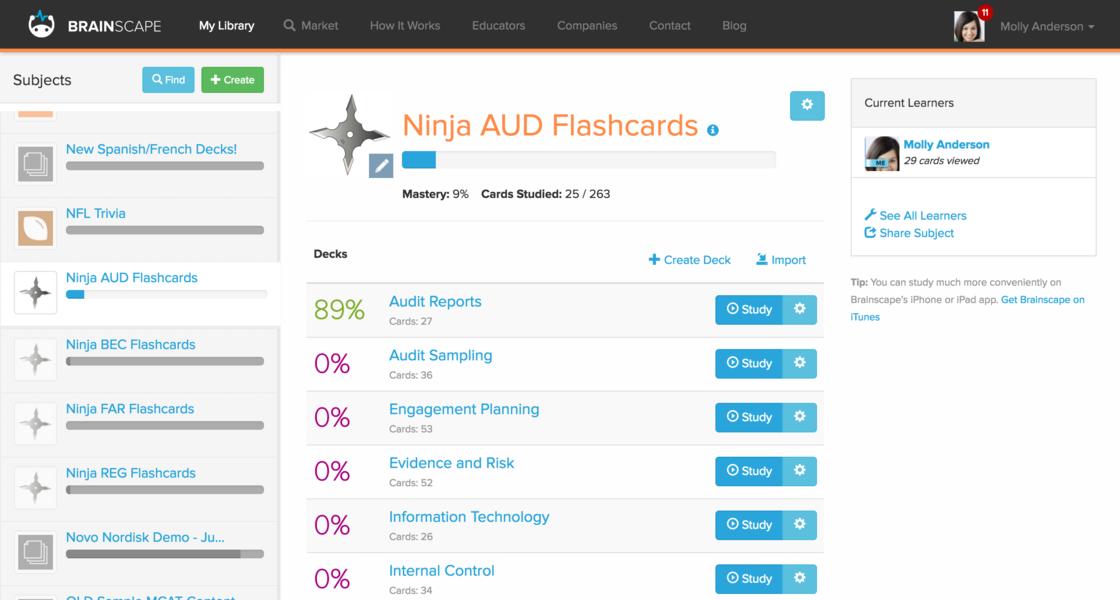 Online CPA Exam Flashcards