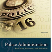 Police Administration 9th Addition