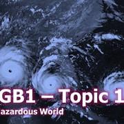 1GB1 - Topic 1b Tectonics