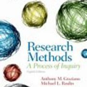 Research Methods (Psy 768)