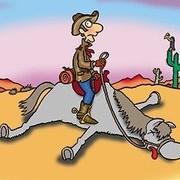 Cuando el caballo este muerte?
