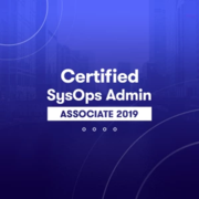 A Cloud Guru - AWS SysOps Administrator Associate (2019)