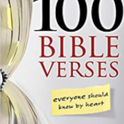 100 Verses Every Christian Should Know
