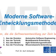 Moderne  Software-Entwicklungs Methoden