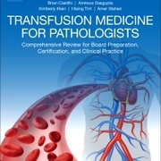 Book - Transfusion Medicine for Pathologists