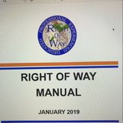 Right of Way - Associate Test - bp