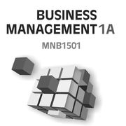 MNB1501 - Business Management 1A