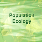 Life Science-Population Ecology