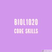 BIOL1020