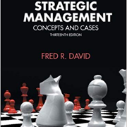 Strategic Management - Fred David
