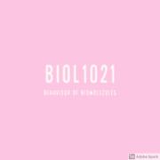BIOL1021