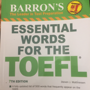BARON'S ESSENTIAL WORDS FOR TOEFL