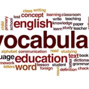 Vocabulary C1 - C2