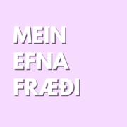 Meinefnafræði (LÆK105F)
