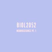 BIOL2052 S1