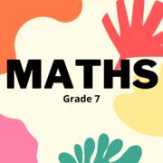 Maths Grade 7
