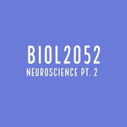 BIOL2052 S2