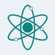 Tabla periódica y átomo.