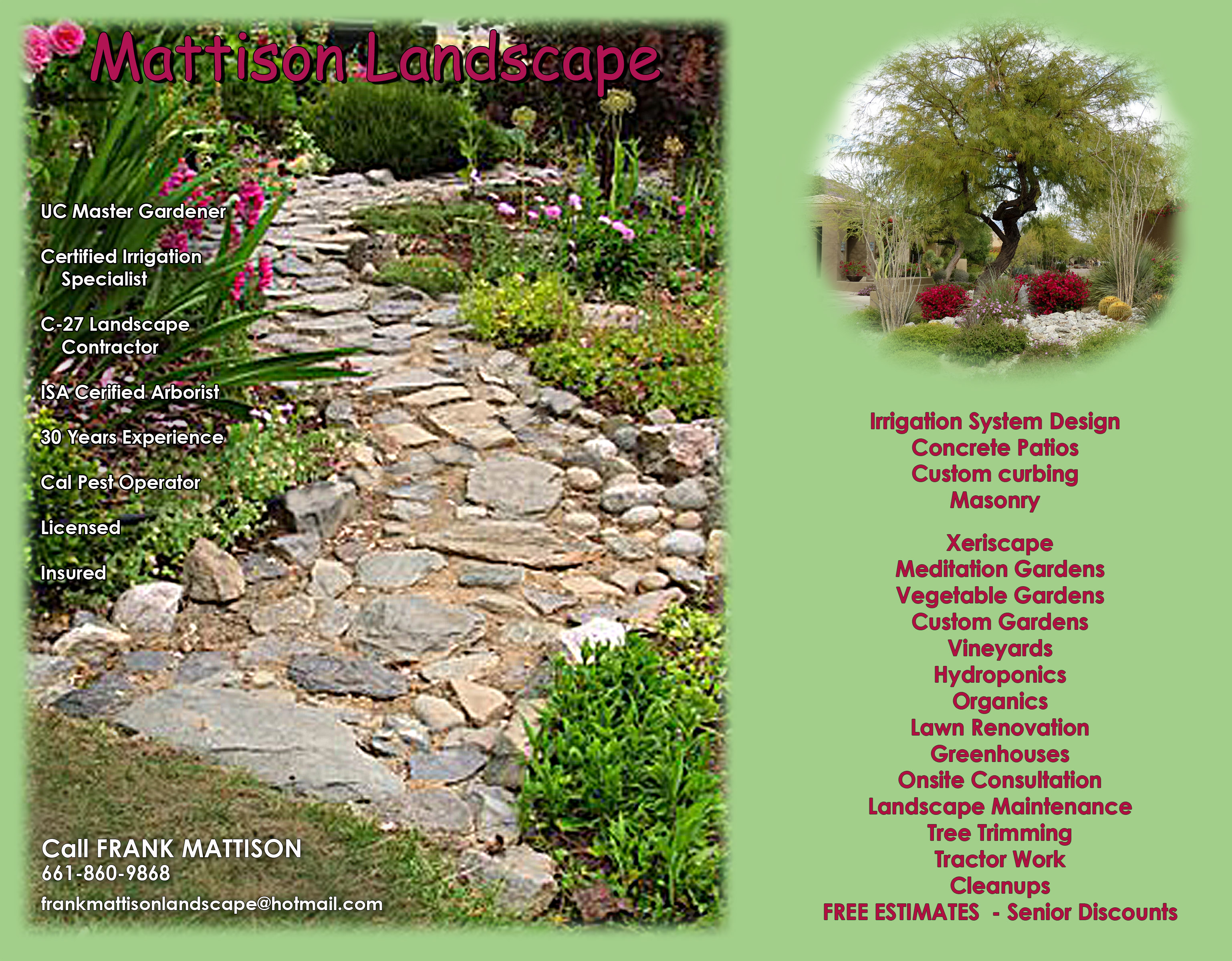landscaping services in lancaster ca frank mattison landscape top rated tree service contractors in lancaster