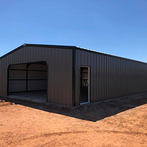 Agricultural metal buildings