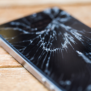 Cracked screen repair