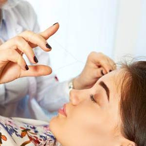 Facial threading