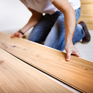 Hardwood floor installments