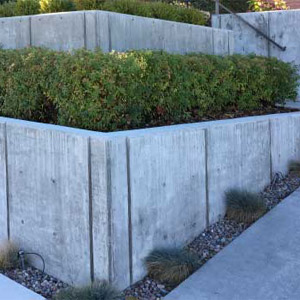 Concrete retaining walls 2