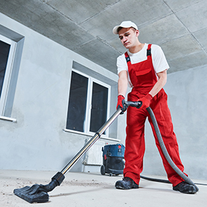 New construction cleaning