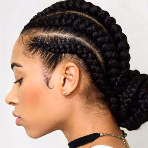 Cornrow braid styles