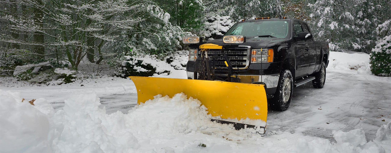 Banner snow removal