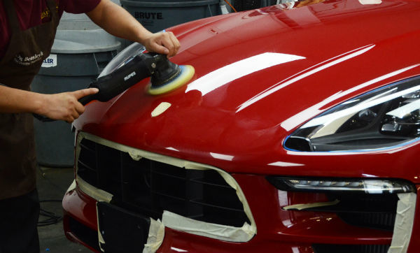 Automotive polishing