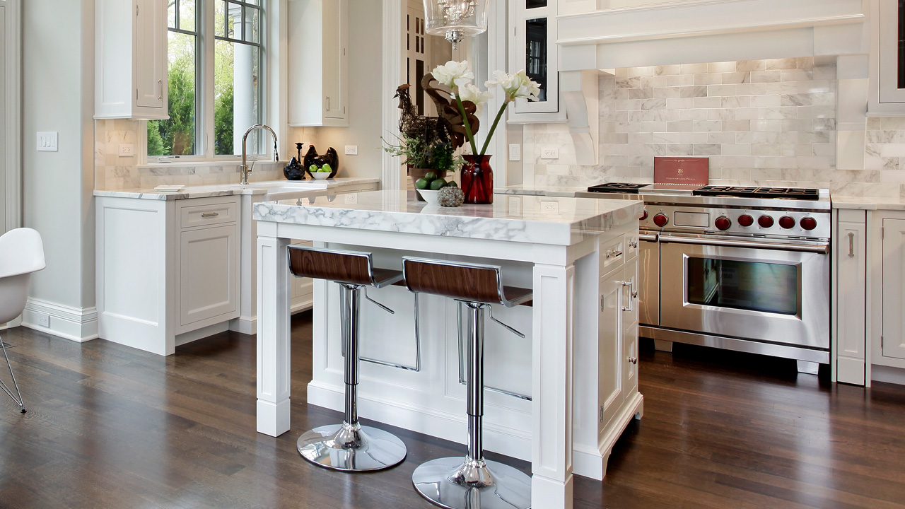Service marble countertop